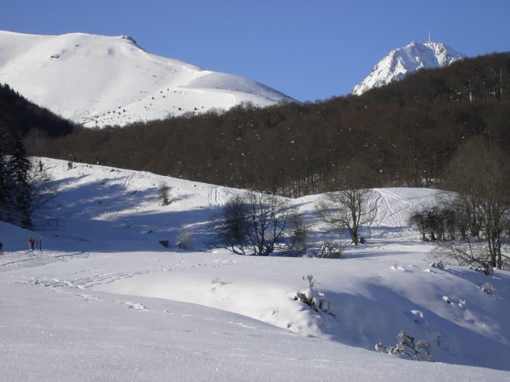 Pyrénées french mountain